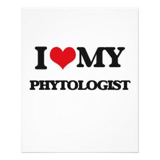 Amo a mi Phytologist Tarjeta Publicitaria