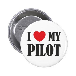 Amo a mi piloto pin