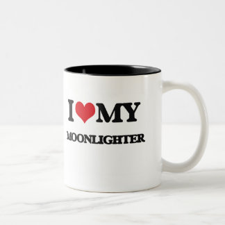 Amo a mi pluriempleado taza