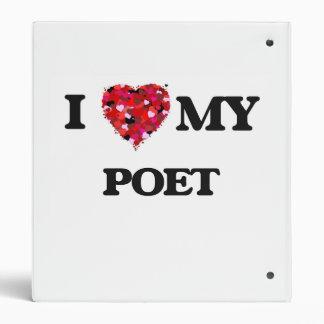 """Amo a mi poeta carpeta 1"""""""