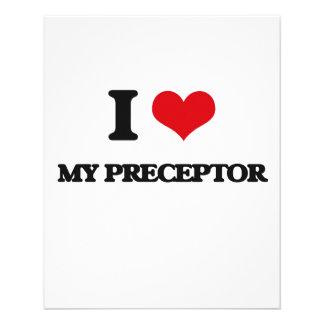 Amo a mi Preceptor Flyer Personalizado