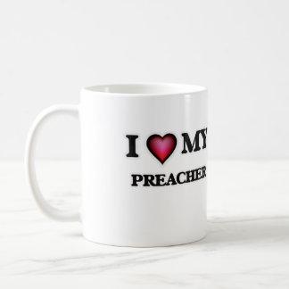 Amo a mi predicador taza de café