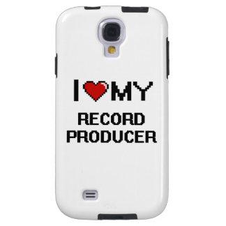 Amo a mi productor de registro funda para galaxy s4