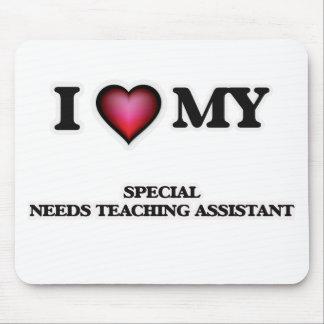 Amo a mi profesor ayudante especial de las mousepad