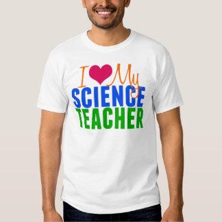 Amo a mi profesor de ciencias camisas
