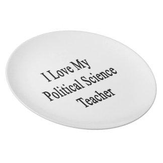 Amo a mi profesor de ciencias político platos