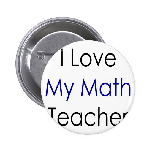 Amo a mi profesor de matemáticas pins