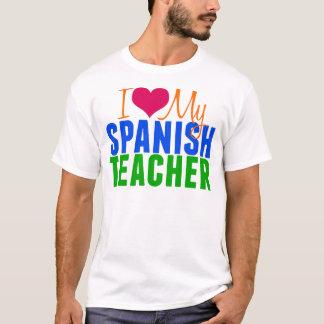 Amo a mi profesor español playera