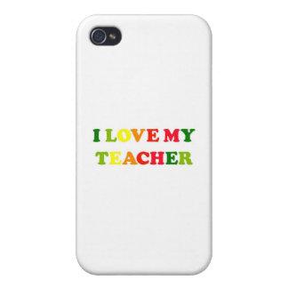 Amo a mi profesor iPhone 4 protector