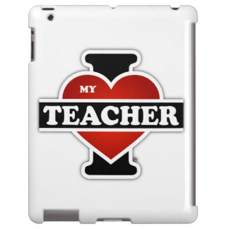 Amo a mi profesor funda para iPad
