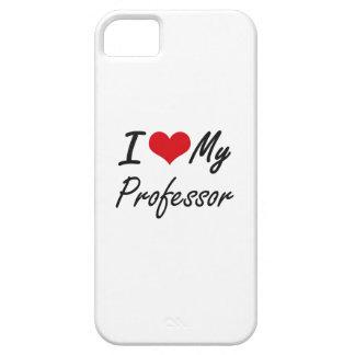 Amo a mi profesor funda para iPhone 5 barely there