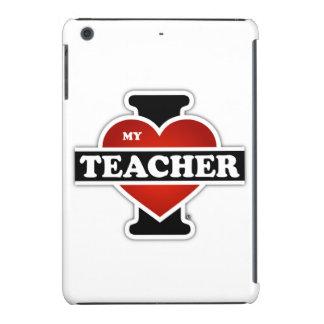 Amo a mi profesor fundas de iPad mini retina