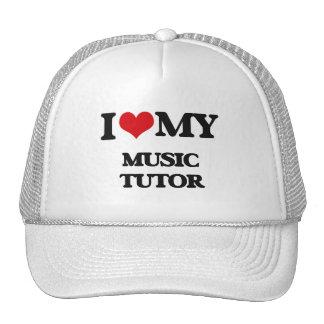 Amo a mi profesor particular de la música gorra