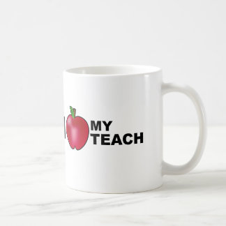 Amo a mi profesor taza