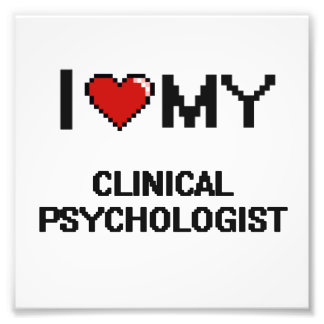 Amo a mi psicólogo clínico fotografía