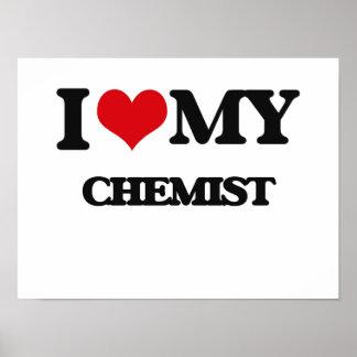 Amo a mi químico posters