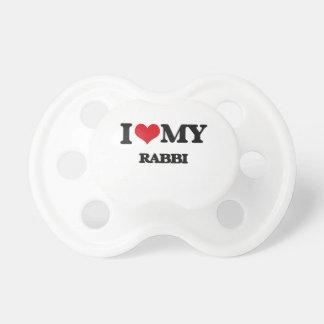 Amo a mi rabino chupetes de bebe