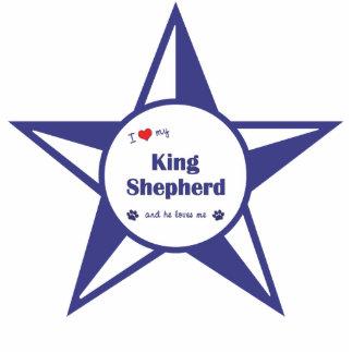 Amo a mi rey Shepherd el perro masculino Escultura Fotografica