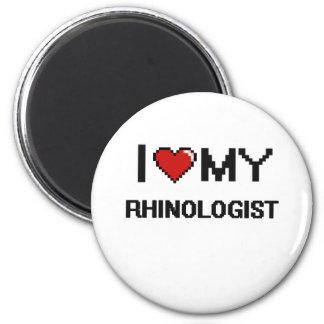 Amo a mi Rhinologist Imán Redondo 5 Cm