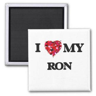 Amo a mi Ron Imán Cuadrado