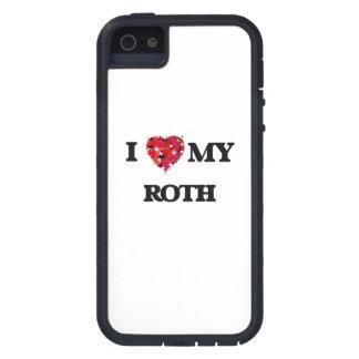Amo a MI Roth iPhone 5 Fundas