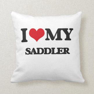 Amo a mi Saddler Cojines