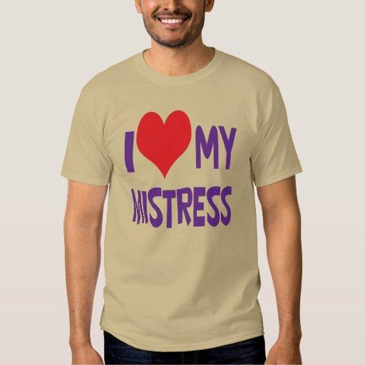 Amo a mi señora camisas