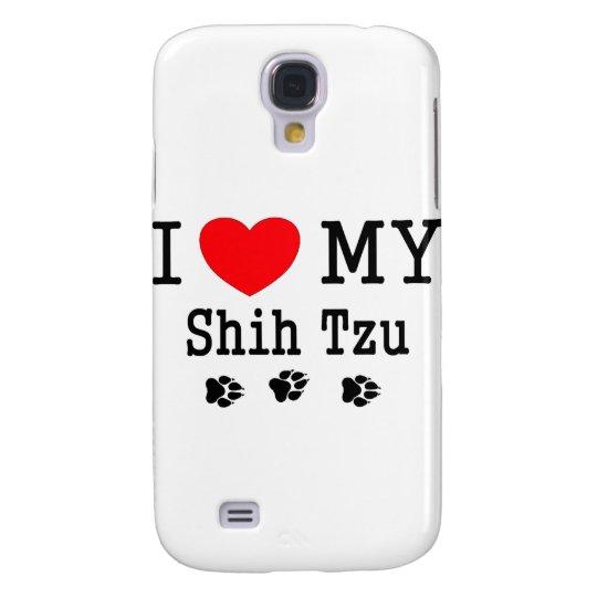 ¡Amo a mi Shih Tzu! Funda Samsung S4