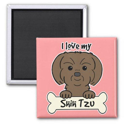 Amo a mi Shih Tzu Imán Cuadrado