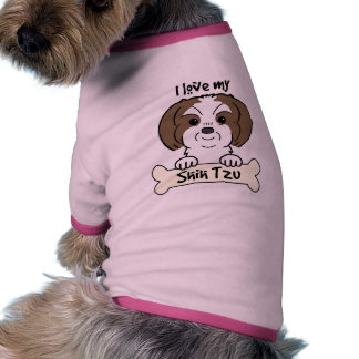 Amo a mi Shih Tzu Camiseta De Perrito