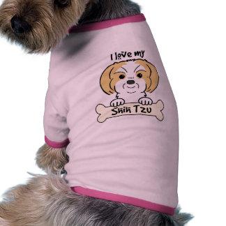 Amo a mi Shih Tzu Camisa De Mascota