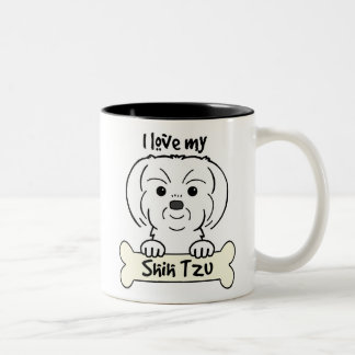 Amo a mi Shih Tzu Tazas