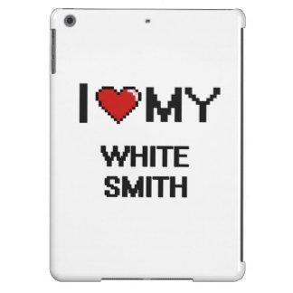 Amo a mi Smith blanco Funda Para iPad Air