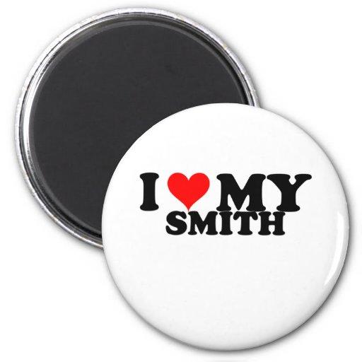 Amo a mi Smith Imán De Frigorifico