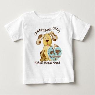 Amo a mi sobrino, camiseta personalizada del bebé