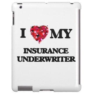 Amo a mi suscriptor de seguro funda para iPad