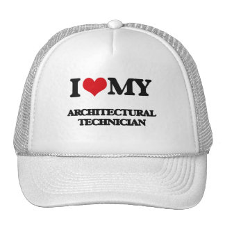 Amo a mi técnico arquitectónico gorro