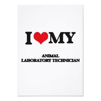 Amo a mi técnico de laboratorio animal