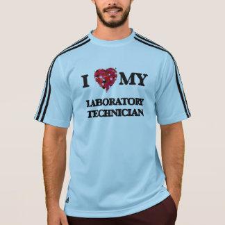 Amo a mi técnico de laboratorio playeras
