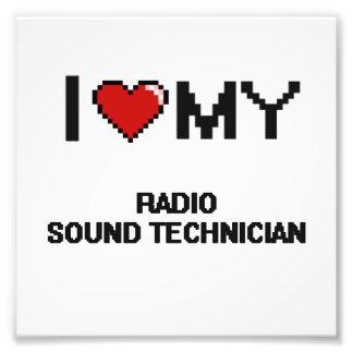 Amo a mi técnico sano de radio fotografías