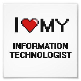 Amo a mi tecnólogo de la información fotografía