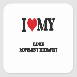 Amo a mi terapeuta del movimiento de la danza etiqueta