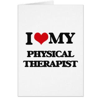 Amo a mi terapeuta físico felicitaciones