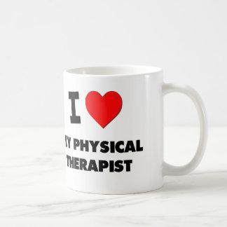 Amo a mi terapeuta físico taza