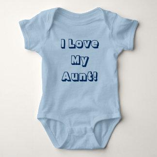 ¡Amo a mi tía! Camisa de una sola pieza con las