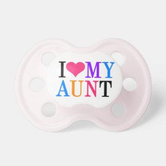 """""""Amo a mi tía """" Chupetes Para Bebes"""
