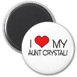 Amo a mi tía Crystal Iman De Frigorífico