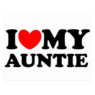 Amo a mi tía postales