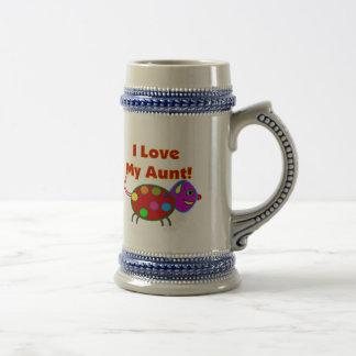 Amo a mi tía tazas de café