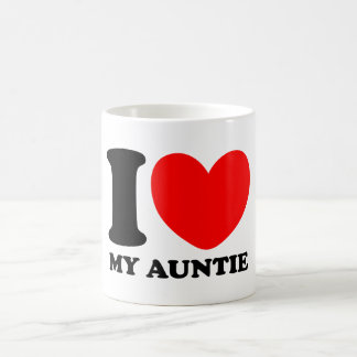 Amo a mi tía taza de café